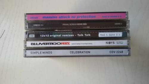 5 cd new wave - anni '90