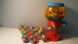 Machine gomme FISHER PRICE