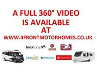 2009 DETHLEFFS FORTERO MOTORHOME FORD TRANSIT 2.4 DIESEL 6 SPEED MANUAL 4/5 BERT