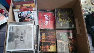 Box full of rap hip hop cds has to go