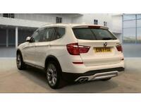 2017 BMW X3 xDrive30d xLine 5dr Step Auto - LEATHER - DAB/CD/HD/AUX/USB - PADDLE