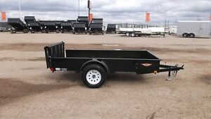 2017 H&H TRAILERS 5.5X10' SS UTILITY