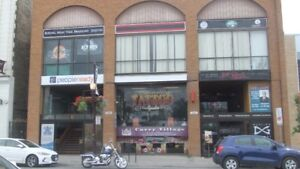 2000 sq.ft . Commercial space for Lease Downtown Peterborough