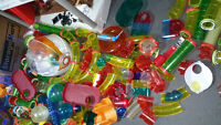 ****HUGE LOT OF HAMSTER HABITRAIL HOUSES AND ACCESSORIES****