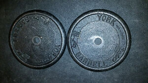 2-25lb Weight plates