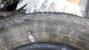 4 Tires without rims for sale