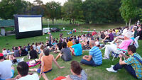Position filled: Outdoor movie event in Sarnia, this Tuesday