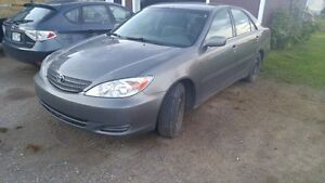 2002 Toyota Camry 2.4l Voiture très solide 1100$ nego