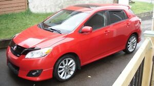 2009 Toyota Matrix xrs Berline