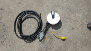 Reel o matic trouble light and air hose