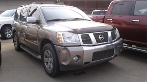 2006 Nissan Armada SUV, Crossover Fully Loaded with DVD
