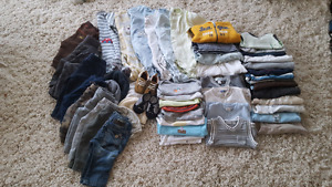 Gently used baby boy clothing 3-6 mth
