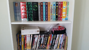 Lot de dvd et blu ray