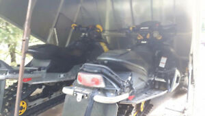 Ski-doo and Trailer Combo