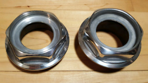"16"" + Original BBS RS Large Thread Hex Nuts"