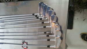 KZG Custom Tour Pro golf clubs irons