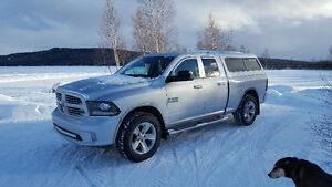 2014 Ram 1500 Quad cab Pickup Truck (Trade Option)