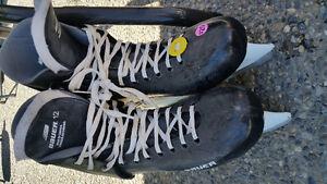 Men's sz 12 Bauer skates