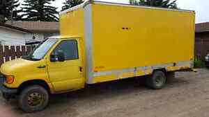 2003 Ford E450 Super duty cube van