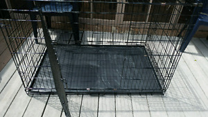 Very large dog cage