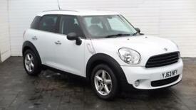 2013 MINI Countryman 2013 63 Mini Countryman One D Diesel white Manual