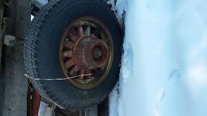 Wood Spoke Wheels