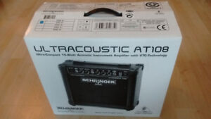 Ultracoustic AT108 - Acoustic Instrument Amplifier (Brand New)
