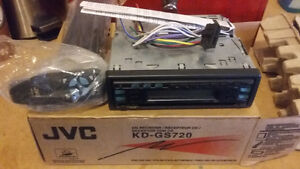 JVC car stereo  New in box