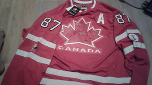 Sidney Crosby 2010 Team Canada Jersey XXL New With Tags!