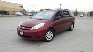 2006 Toyota Sienna CE, 7pass, certified, 3/Y warranty available