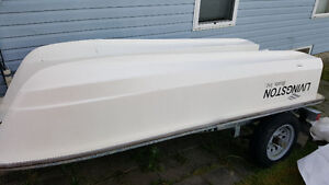 MUST Sell fiber glass boat with Road runner trailer