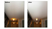 GREAT RATES ON CEILING TEXTURE & KNOCKDOWN