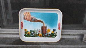 Real and authentic 1961 Coca Cola tray