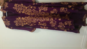 Pakistani and Indian stitched (used), unstitched suits and sari