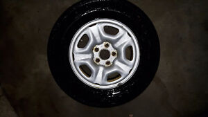 Toyota tacoma rims and tires great condition