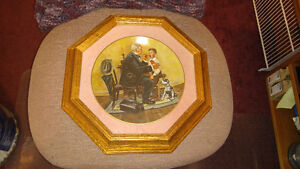 """Norman Rockwell Collectors Plate – """"Country Doctor"""""""