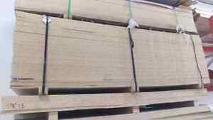 One side white, one side raw maple particle board melamine