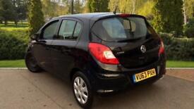 2013 Vauxhall Corsa 1.2 ecoFLEX Exclusiv (AC) (Sta Manual Petrol Hatchback