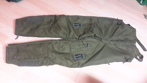 Rare army military flight overall extreme cold survival trousers