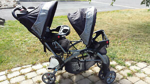 Pousette double Baby Trend