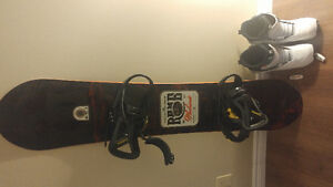 Spring snowboard package