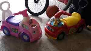 Fisher price little people ride on cars