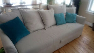 2 sofas bed