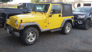 2002 Jeep TJ Sport Convertible