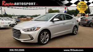 CERTIFIED 2017 HYUNDAI ELANTRA GLS - FULLY LOADED - YORKTON