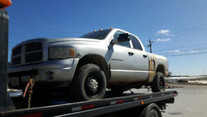 PARTING OUT 2003 DODGE RAM 2500 4X4 DIESEL 6 SPEED 5.9 CUMMINS