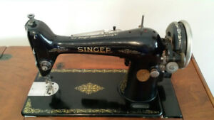 SINGER Sewing Machine, VINTAGE, Machine a Coudre