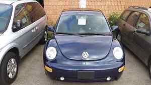 01 vw beetle only 106.000km very clean  safety and e-test inc. London Ontario image 2