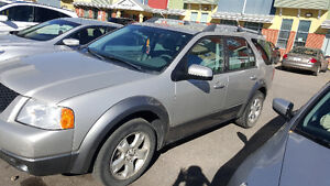 A 2006 ford freestyle sel awd in a good condition