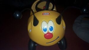Vintage Little Tikes Bumble Bee Buggy